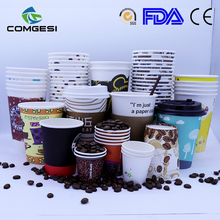 Paper cup pack_PE PLA Coated Disposable paper cup pack_pe coated paper cup blank