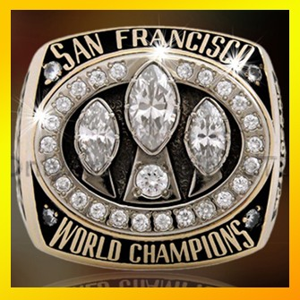 Most popular sport rings engraved logo football champion rings fashion custom national championship rings