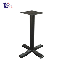 China OEM Supplier Wholesale Factory Price Furniture Accessories Cast Iron Metal Square Table Base Manufacturers