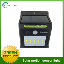 20 led motion sensor garden light solar led outdoor wall light