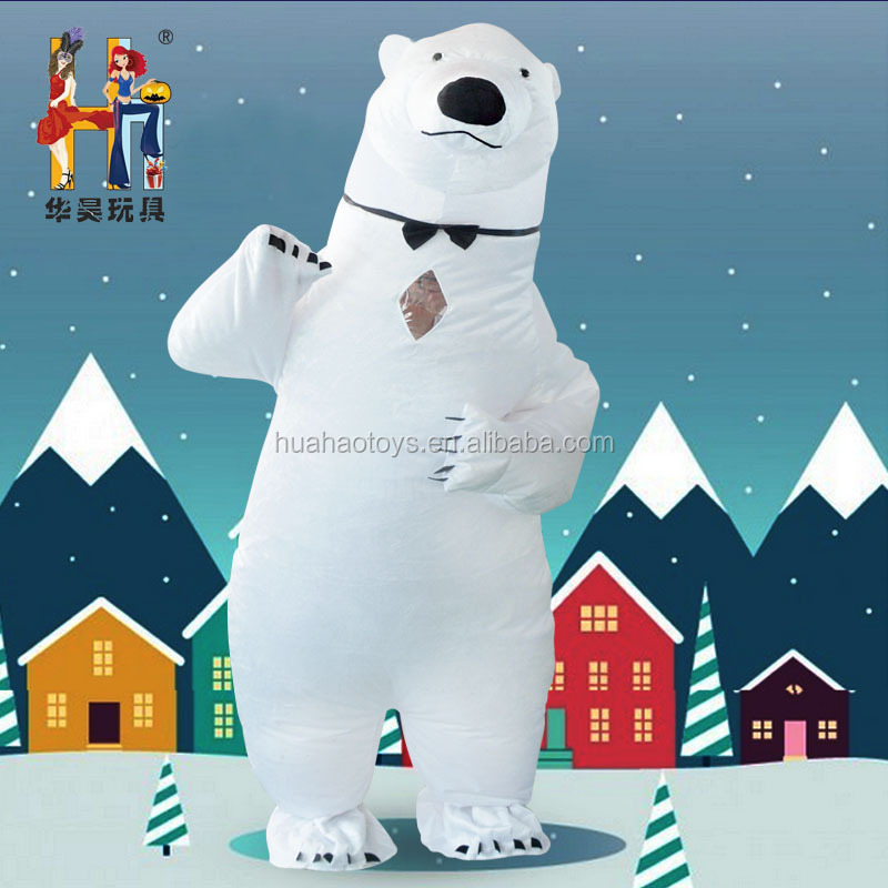 inflatable polar bear costume Christmas costume party costume