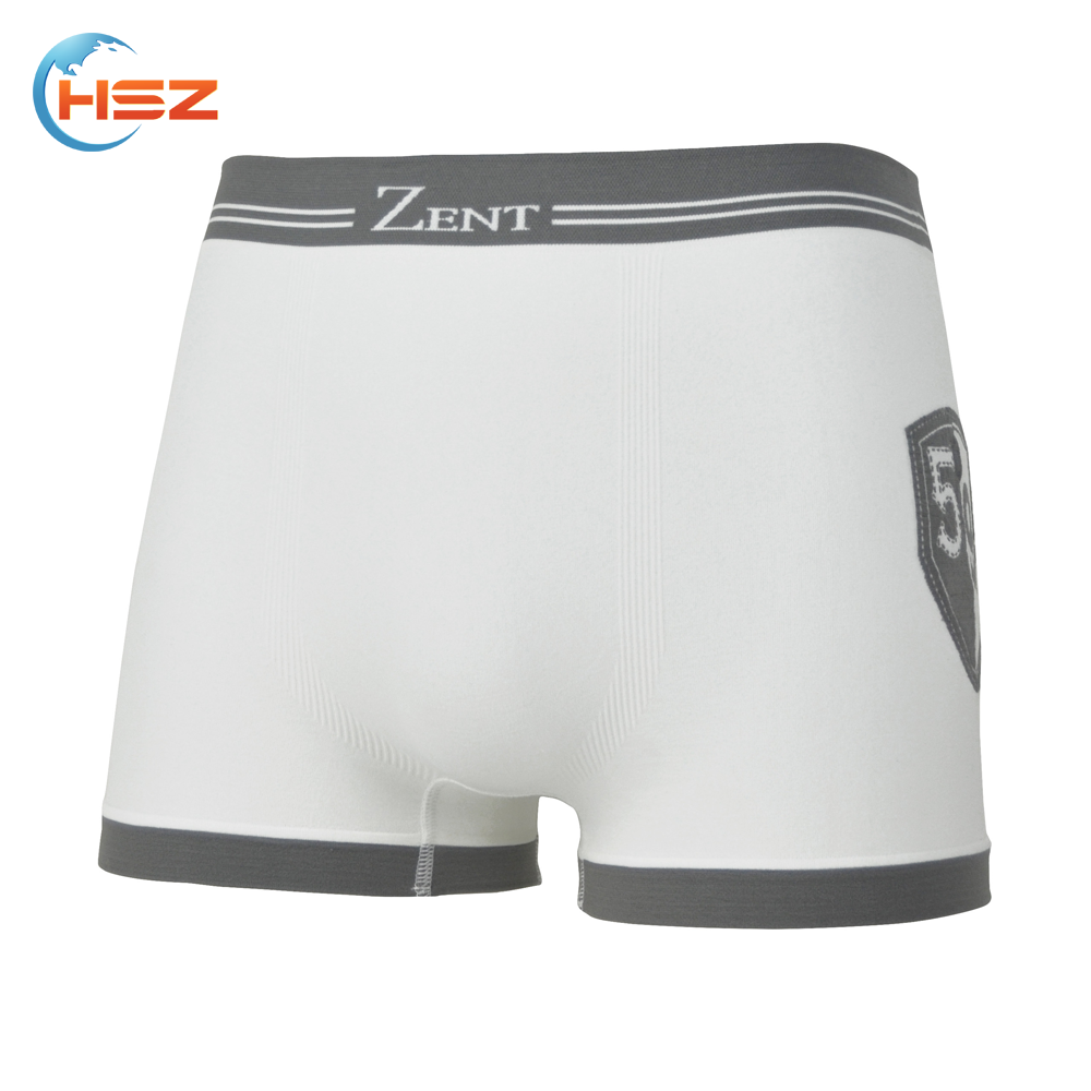 Hsz-SMB0009 White Mens Underwear Mature Hot Sexy Underwear Manufacturing in China Gay Men Sexy Photos