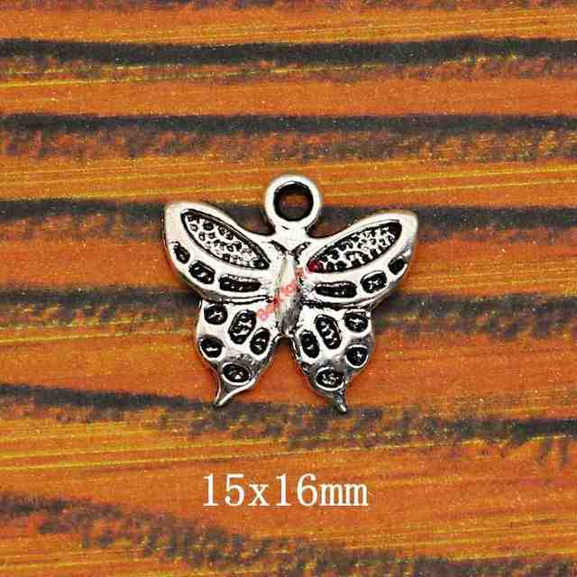 Mixed Tibetan Silver Plated Butterfly Dragonfly Charm Pendant for Bracelet Necklace Jewelry Accessories Making Handmade DIY