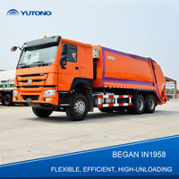 China 20 Cbm Garbage Truck Compactor For Sale