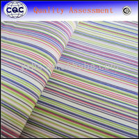 yarn dyed blue and white stripe fabric