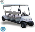 4 wheel electric golf car cheap price club car with 6 seater