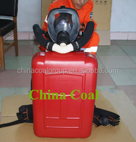 HYZ Series Portable Carbon Fiber Cylinder Emergency Mining Self Rescuer Breathing Apparatus