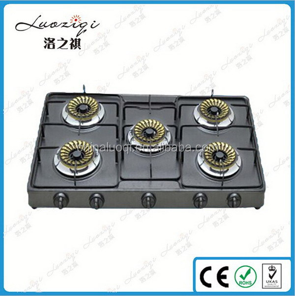 Cheap hot sale gas stove cooker and range hood