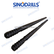 T45 top hammer drill pipe for mining , quarrying , tunneling