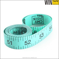 150cm wholesale green PVC fabric tailor measure tape online under dollar store items