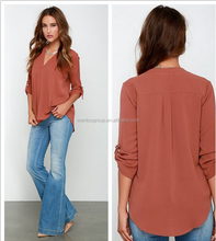 Wholesale Comfortable Chiffon Shirt