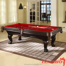 mass production 4 legs lego tables billiard table