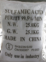 sulfamic acid 99.5%-99.8% for food and industry use