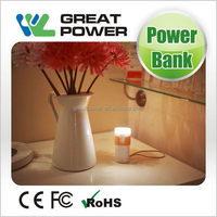 Special latest smartphones 5000mah portable power bank