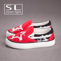 Childrens Slip On Fashion Canvas Shoes