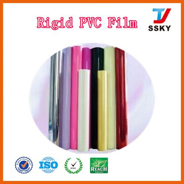 High quality coloured plastic roll transparent clear sheets for pack colour pvc sheet