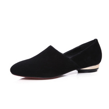 Ladies shoes sheepskin women shoes pictures of women flat shoes