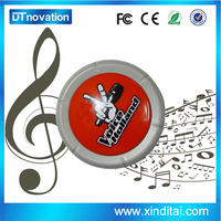 Brand new technology usb push button with music