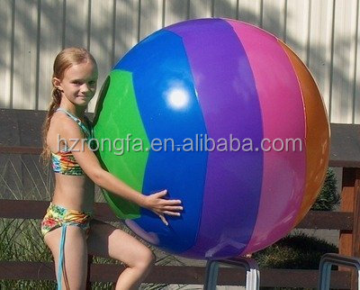 Colourful balls/ Inflatable gaint beach ball/ PVC inflatable beach ball for promotion