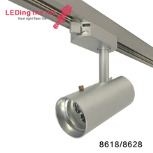 8618 8628 discount track lighting focusable beam angle commercial track light systems for museum 7w 9w