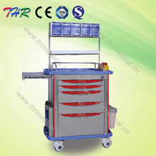 THR-ET-8500IA ABS Medical Hospital Emergency Trolley