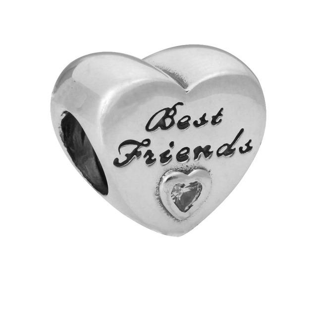 CS00379 JN wholesale Easter vintage DIY heart letter rabbit jewelry supplies big hole bead bracelet