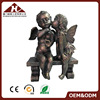 resin antique kiss angel figurine