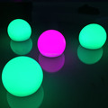 small diameter 12cm led glow ball/lighted hanging led ball/waterproof led light ball