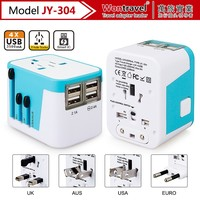Alibaba wholesale New products universal UK/EU/AU/US plug ,5V3.5A universal travel adapter charger with 4 USB ports