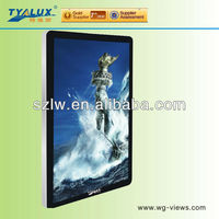 46 inch good quality and best price lcd advertising player in shopping mall