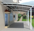 High stability and easy to assemble polycarbonate aluminum car parking canopy