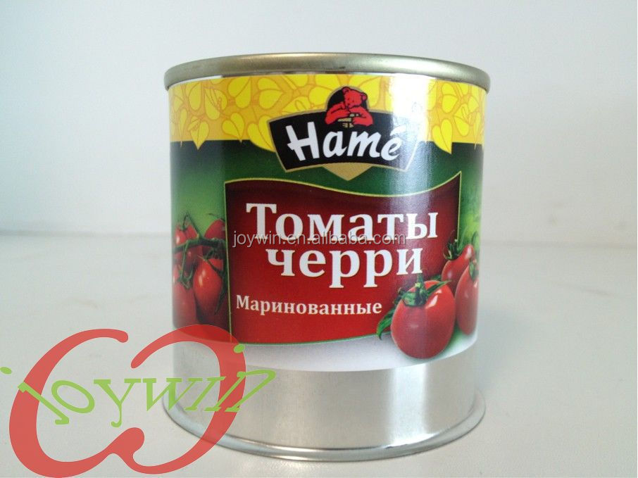 Canned cherry in syrup
