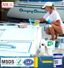 Hot Girl picture boat paint marine anti fouling paint
