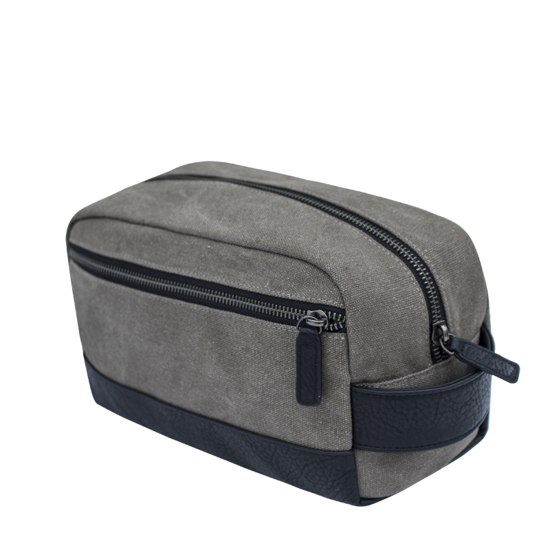Canvas Dopp Kit Toiletry Bag for Men for <strong>Travel</strong>