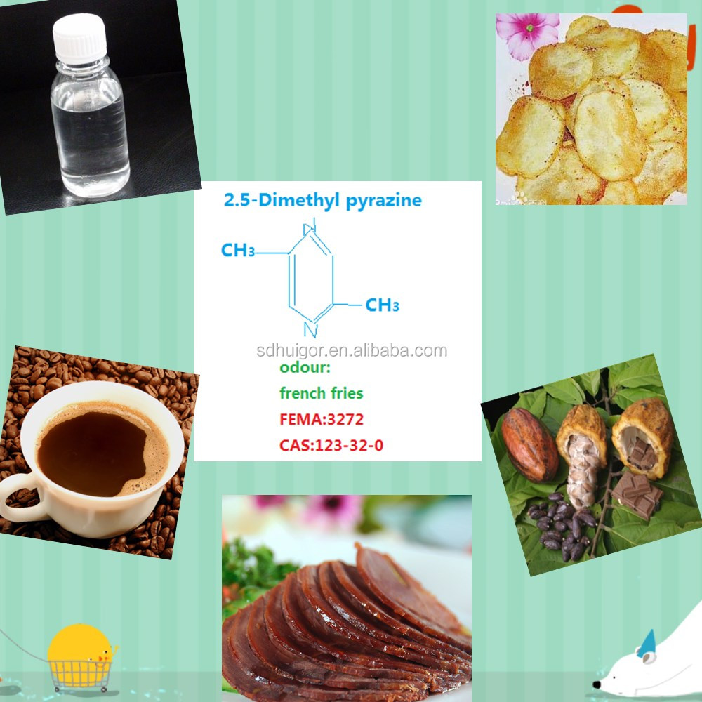 artificial coffee flavor and aromo chemical 2.5-Dimethyl pyrazine