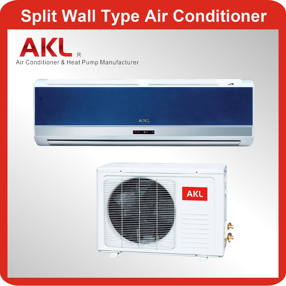 18000 btu 1.5 ton wall split air conditioner for electric panel