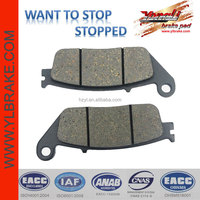Performance motorcycle Brake Pad manufacturer in China,brake pad back plate for HONDA-RS 125/RS 250/CBR 600/CBF 600/CBF 1000