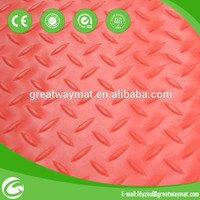 coin bullet design anti slip pvc floor mat