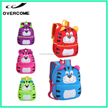Cartoon animated stylish mouse double shoulder plush backpack and kids school backpack