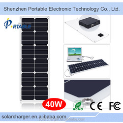 Factory Price 120V Solar Panel,40W Solar Panel Made In China Cheap