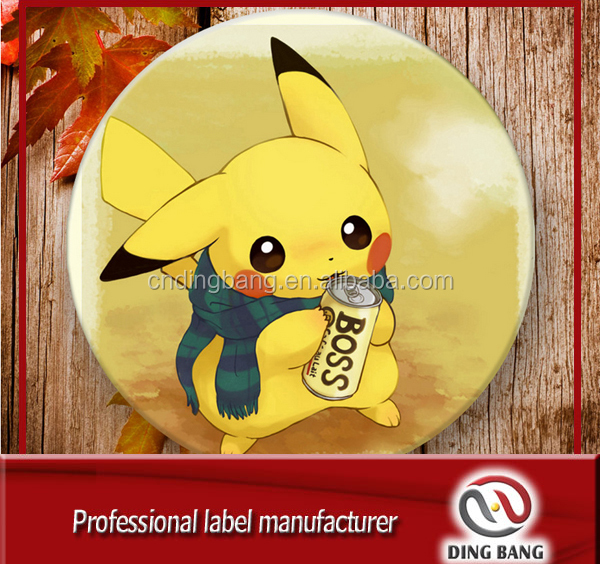Custom Wholesale Custom Nintendo Pokeball Metal Pokemon Go Gym Plus Pikachu Badge Pin