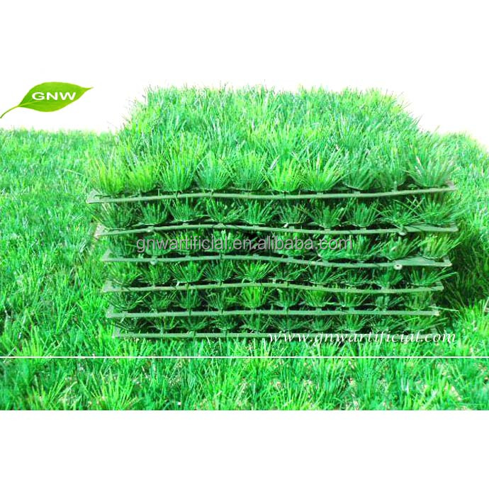 GNW BOX029 Artificial Plastic Grass Mat Boxwood Panel indoor outdoor green plants
