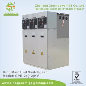 Best Quality High Voltage 24kV Ring Main Unit (RMU) Switchgear