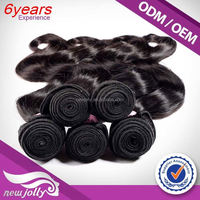 100% Raw Sufficient Stock Supplier China Factory 6A 100% Unprocessed Virgin Brazilian Body Wave Hai
