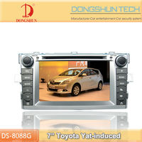 7 inch touch screen Toyota EZ car DVD radio with TV,Bluetooth,Ipod