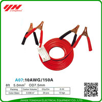 Safety intelligent booster cable jump starters battery
