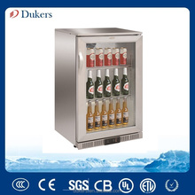 Silver colour bar fridge,single door beer cooler LG-138