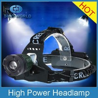CR EE LED Rechargeable High power Bicycle/Bike Headlamp