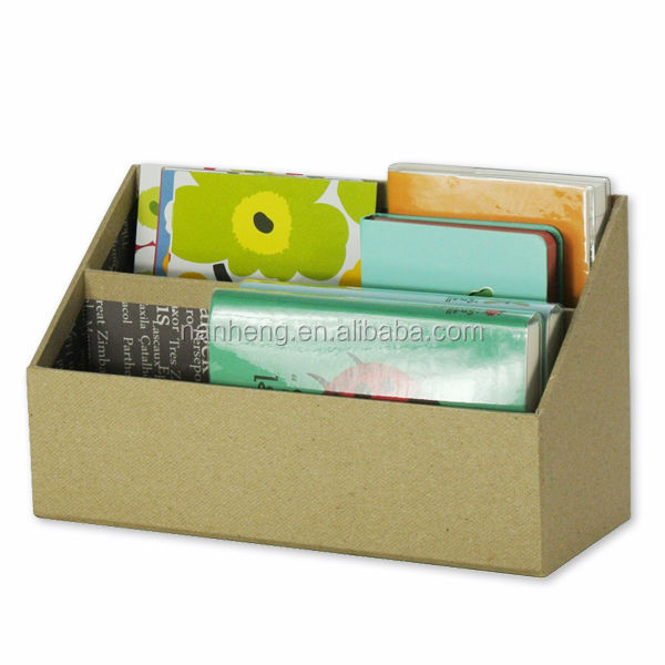 NAHAM Office Recycled 2 divided paper letter organizer,desktop letter holder