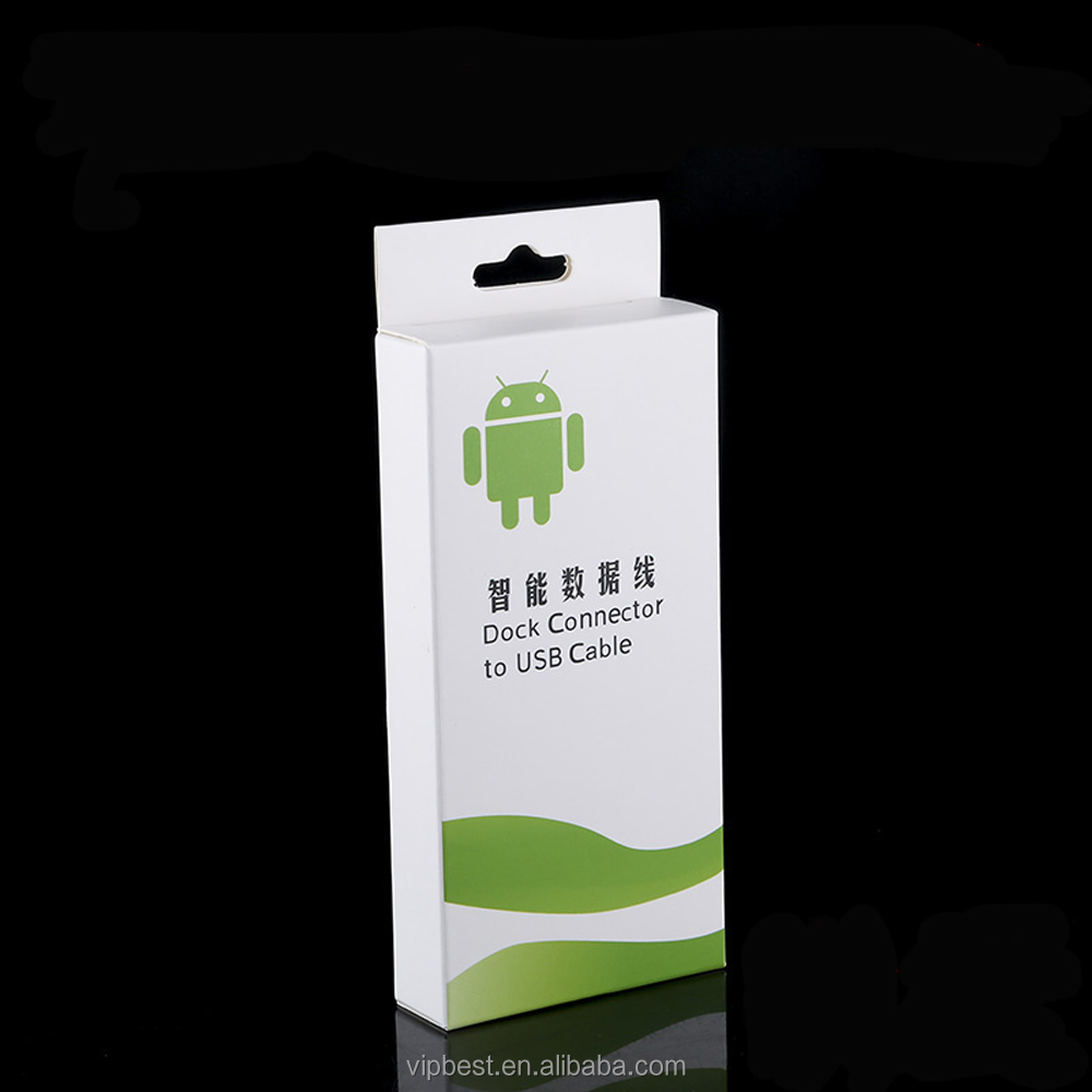 phone case usb cable packing box